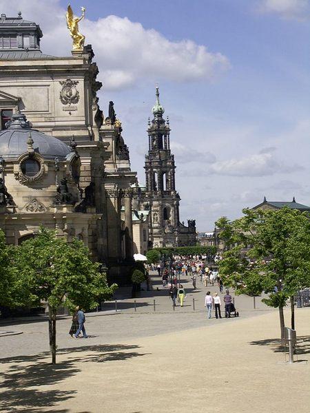 Geschichte Festung Dresden